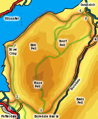 Around Place Fell Map