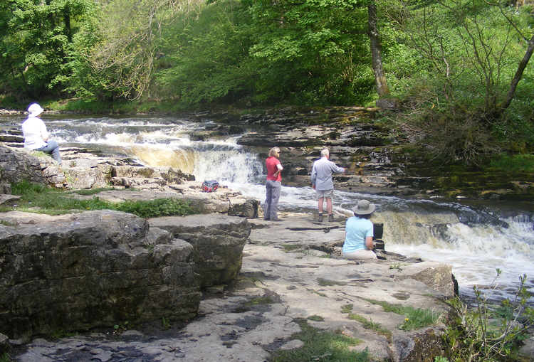 Stainforth Force comes as something of a surprise when walking ...